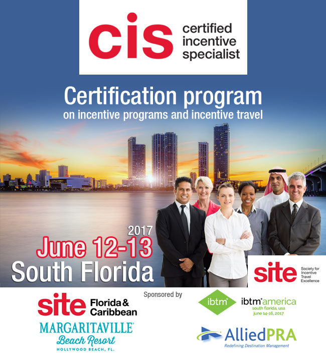 CIS, Certified Incentive Specialist